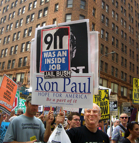Mark Levin: Mark exposes Moonbat and 9/11 Truther Ron Paul