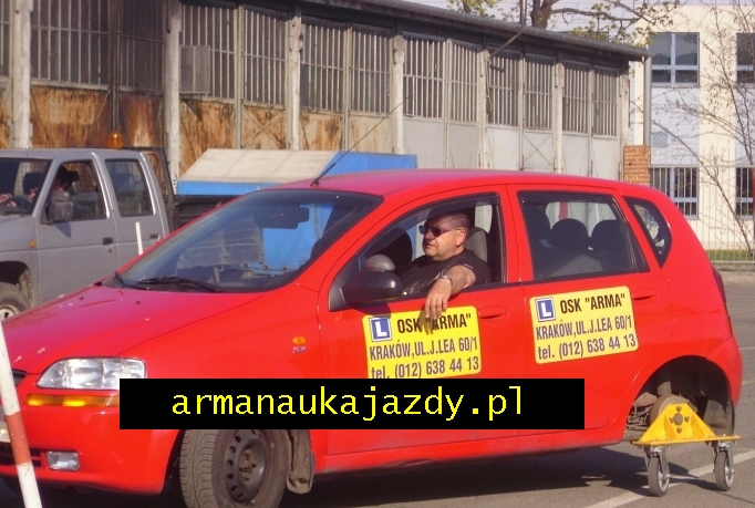 ARMA Nauka Jazdy - Fhrerschein in Polen/ Krakau - Tadeusz Lepszy