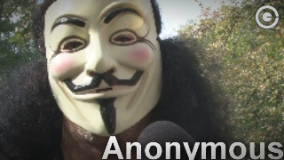AIM EXCLUSIVE VIDEO: Anonymous speaks! (1% ARE racists)