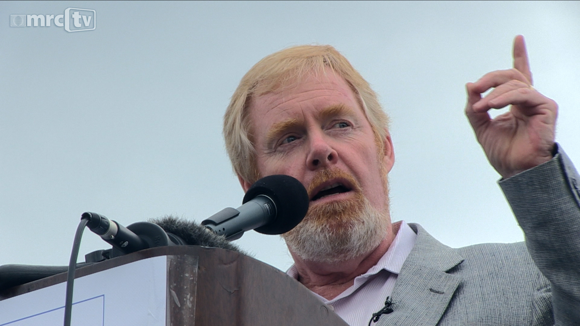 MRC's Brent Bozell Speaks to the Tea Party