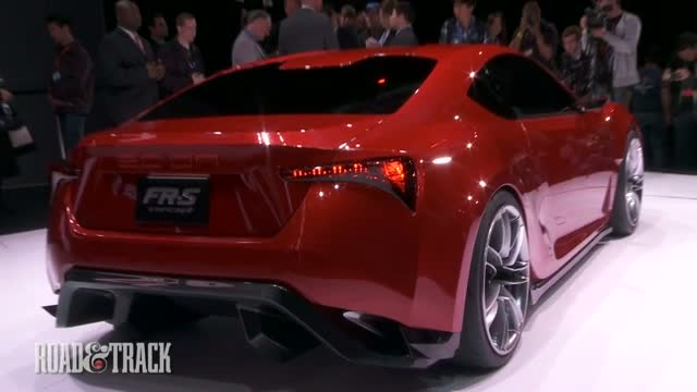 2012 Scion FR-S Five Axis Concept 