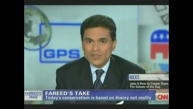 Fareed Zakaria: Today's Conservatives Like 'the Old Marxists,' Rooted Too Much In the Abstract