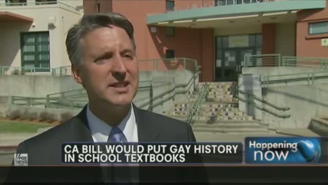 Calif Legislature Taking Up Bill Requiring The Teaching of Gay History in School