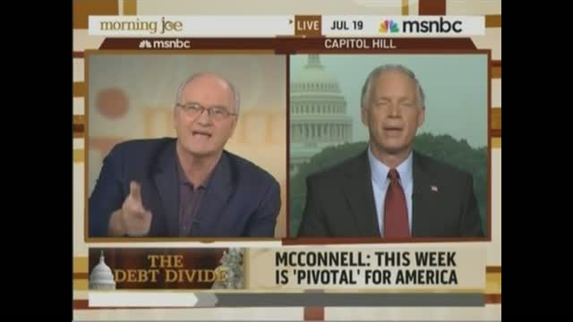 Sen. Ron Johnson Bests Barnicle on Debt Fight