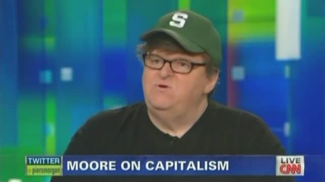 Michael Moore Accidentally Explains How He Benefits From Capitalism