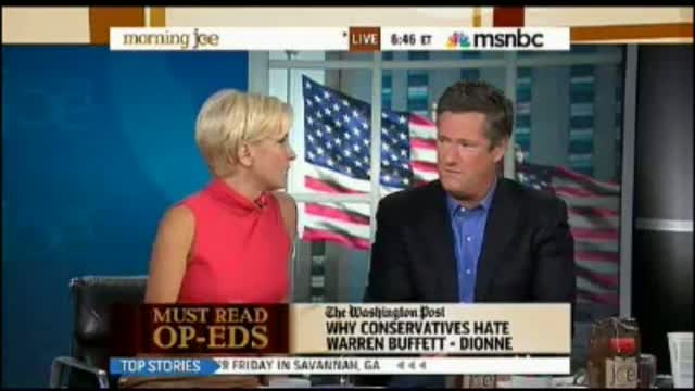 Joe Scarborough Rips E.J. Dionne: 'He Changes Every Couple of Years Depending on Who's in the White House'