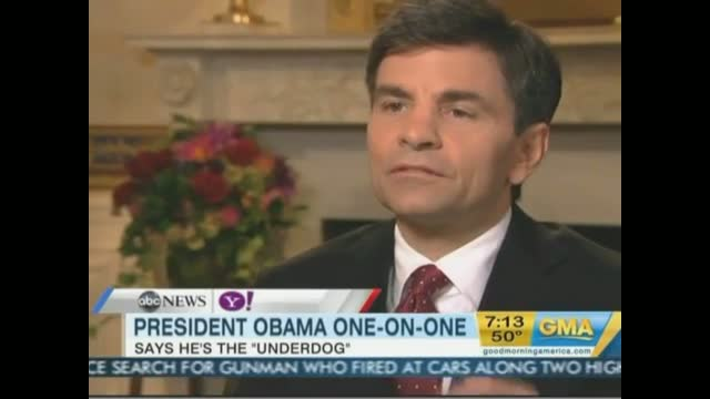 Stephanopoulos Asks Obama If He Can Stop Debit Card Fee