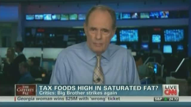"Jack Cafferty Suggests a ""Fat Tax"""