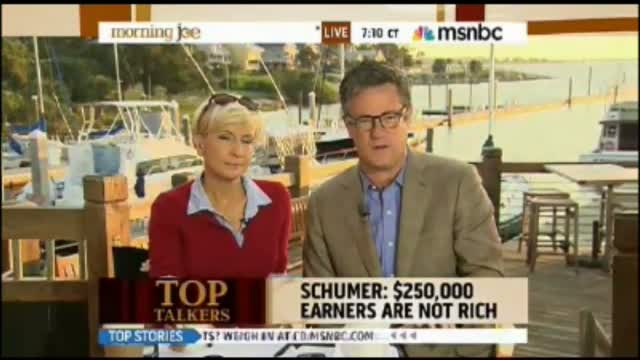 Scarborough: 'Divide Between Rich and Poor Has Nothing to do With Free Markets - It Has to do With Tax Policies'
