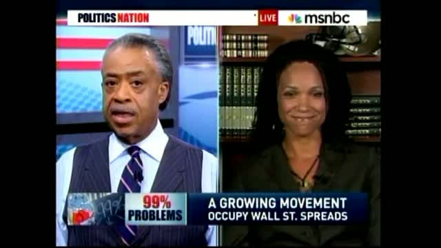 Sharpton: 'Occupy' Movement Ideally About 'How We Distribute The Wealth In This Country'