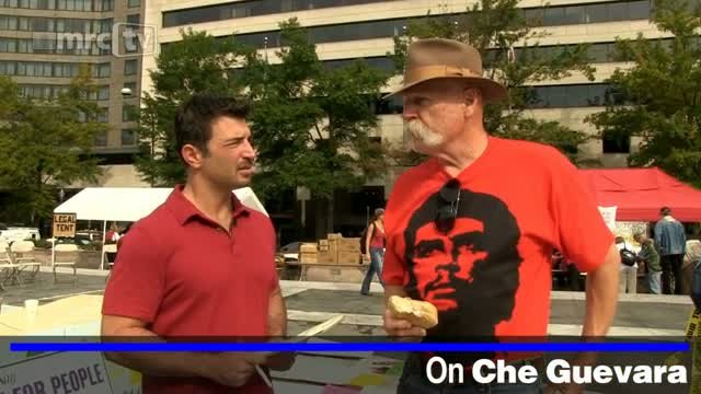 DC Occupier: Che Guevara a 'good guy'