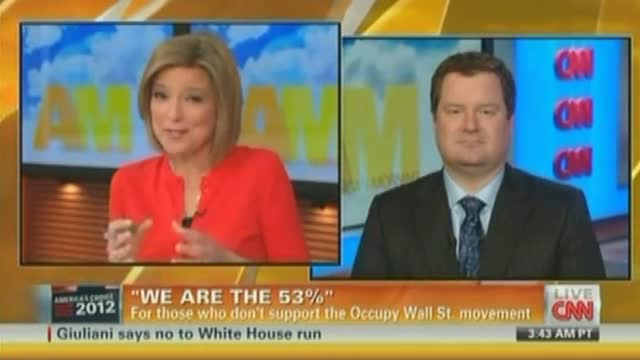 CNN to Erik Erickson: 'Admit' That Wall St. Protests Are 'Resonating'