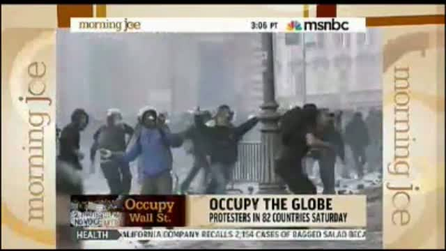 Scarborough on Rome Riots: Occupy Wall Street 'Creating New Jobs' By Forcing Rebuilding of Damaged Property