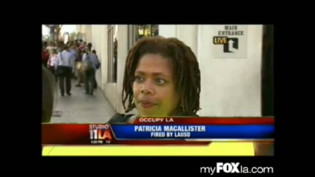 Anti-Semitic Occupy LA Protester Fired By School District, Media Mostly Mum