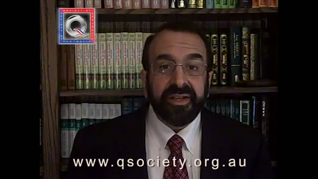Robert Spencer speaking tour of Australia video 2