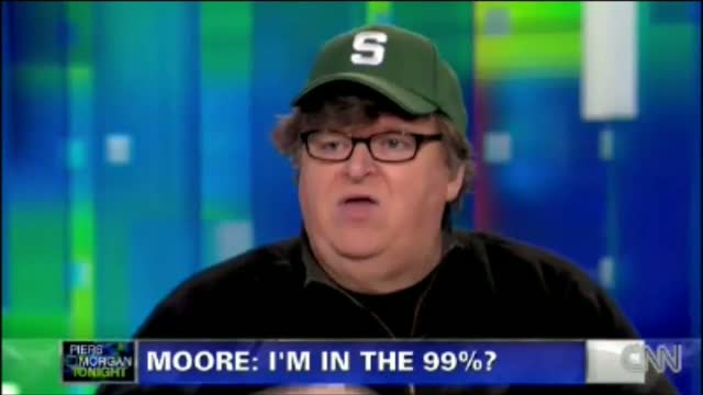 OWS Supporter Michael Moore Lies on National Television About His Wealth: No I'm Not Worth Millions