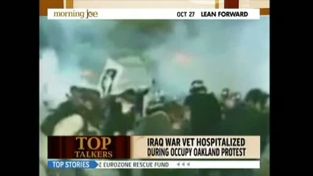 Morning Joe On Oakland &#039;Occupy&#039;: &#039;Police Riot, Brutality&#039;