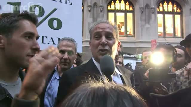 Peter Schiff takes on &#039;The 99%&#039;, Part 2