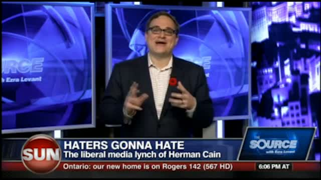 Ezra Levant interviews Herman Cain