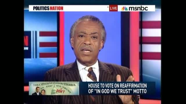 Sharpton: Republicans Can't 'Use Christianity' Then Vote Against Welfare