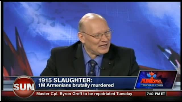 Michael Coren on the Armenian Genocide Nov 1 2011