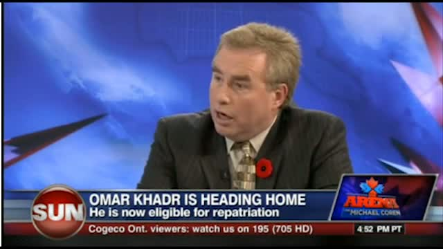 Michael Coren on the imminent release of Omar Khadr