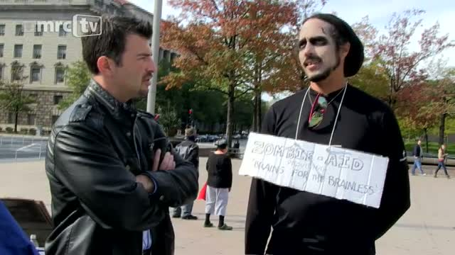 Occupy DC Protester: 'You Can Call It Anti-Semite, I Guess I Call It Pro-Goyim'