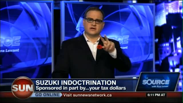 Ezra Levant busts David Suzuki at long, long, last!!!!!