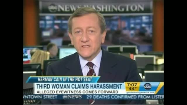 ABC's Brian Ross Slings Mud Against Herman Cain