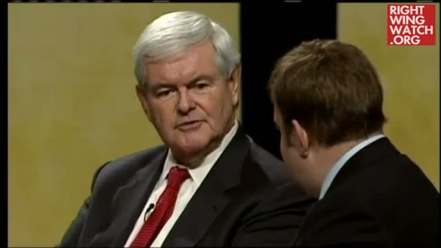 Newt Takes Swipe at Occupy Wall Street