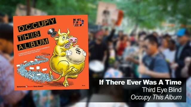 Musicians (and Moore) capitalize: 'Occupy This Album'