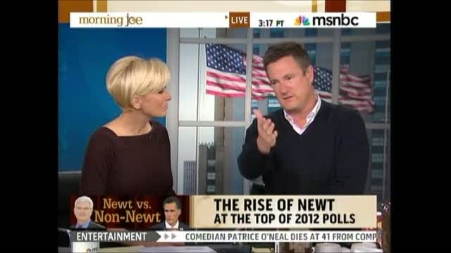Scarborough: Newt 'Not Fit To Be President Of The United States'