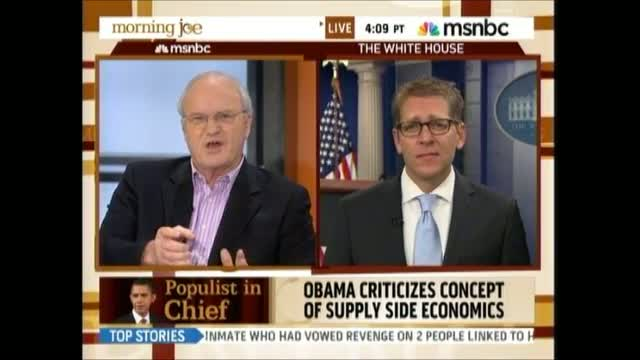 Barnicle Complains To Carney: When Will Obama Stop 'Swinging At Air' And Go Right After Republicans?
