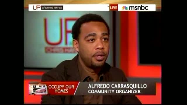 MSNBC's Hayes Nods As OWS 'Community Organizer' Defends Property Theft As 'Technicalities'