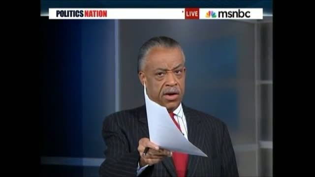 MSNBC's Klan Smear Of Romney So Slimy, Even Sharpton Shuns It