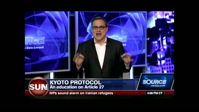 Ezra Levant: Kyoto is an Enviro-Cult