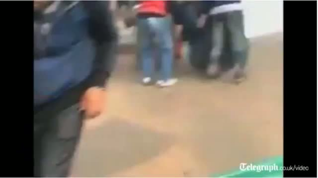 Riots in Cairo Dec 17 2011 Bearded clam call