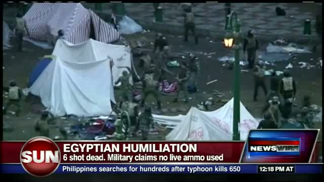 Egyptian riots update Dec 19 2011
