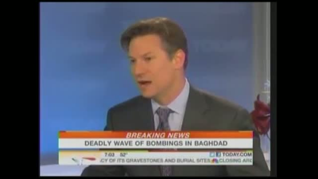 NBC Tries to Immunize Obama from Criticism After Bombings in Iraq