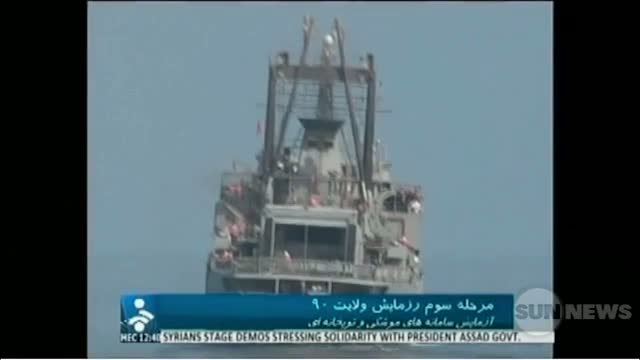 SUN TV Jan 2 2012 Canada and US on the Iran straights of Hormuz