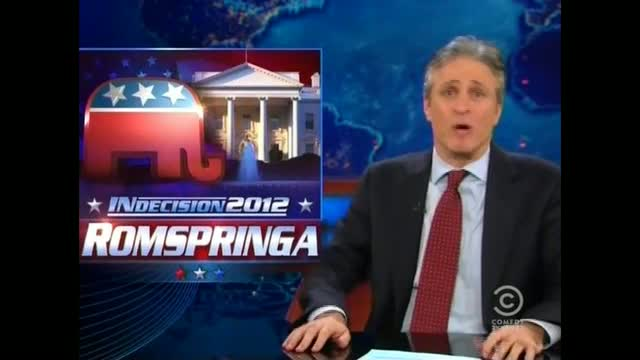 Jon Stewart Mocks GOP as &#039;White Man&#039;s&#039; Party and Jabs Concerns About Nuclear Iran