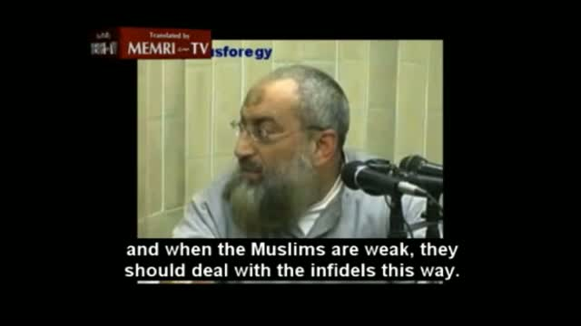 Muslim cleric: 'Christians can be treated like the Jews of Mecca'