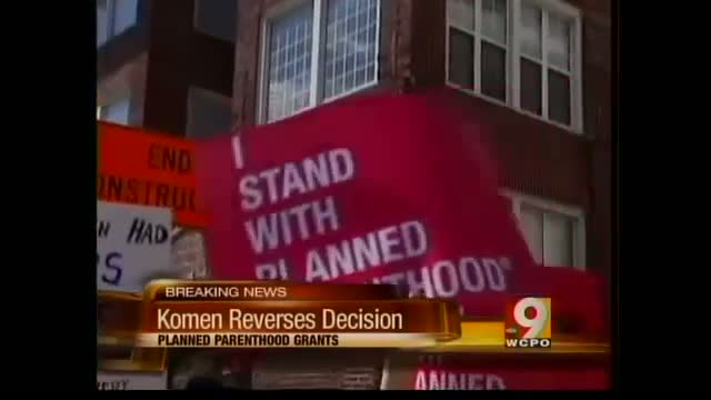 Komen Reconciles with Planned Parenthood