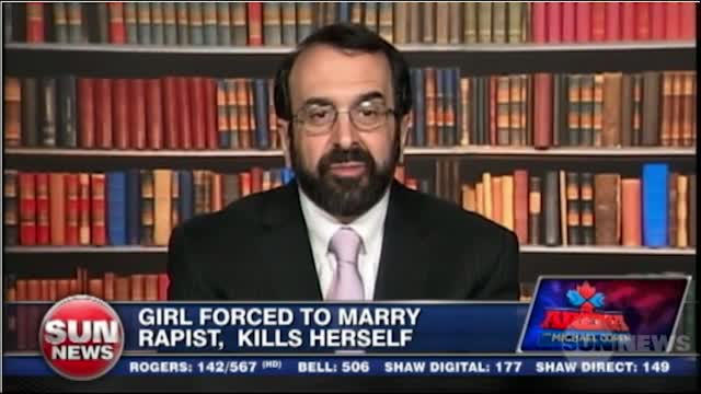 Robert Spencer on Coren March 15 2012 on sharia law, forced marriage to your rapist