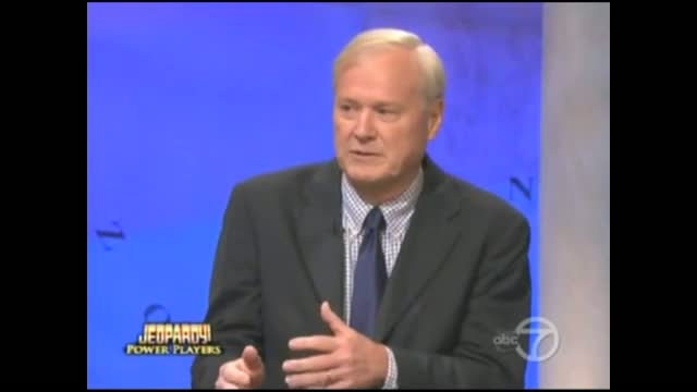 On Jeopardy, Chris Matthews Ludicrously Claims He Finds Facts First, Then Forms Opinion