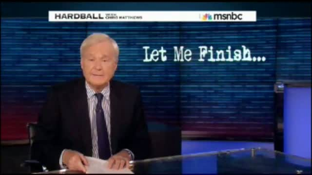 Question for Chris Matthews: How Many Lies Are You Willing to Tell to Get Obama Reelected?