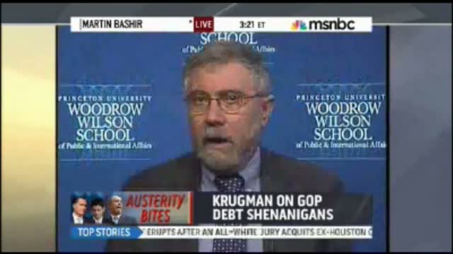 Paul Krugman: Republicans Are 'Manchurian Candidates' Looking to 'Bring Down America'