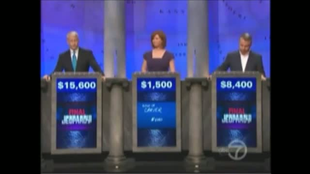 NYT's Thomas Friedman Bombs on 'Jeopardy!'
