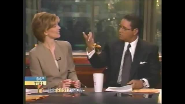Bryant Gumbel Flips Out When Co-Host Suggests Reagan Best President