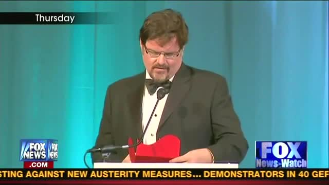 Highlights of MRC's Gala and DisHonors Awards Shown on FNC's Fox News Watch